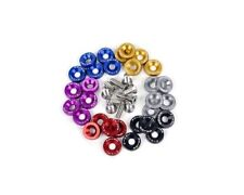 Password:JDM [5 Pair] Dress-up Washers 6Mx20 Bolts w/ 10mm Hole [BLUE] Civic