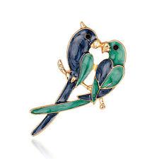Gold Plated Christmas Drip Brooch Pin Sweet Love New Fashion Animal Jewelry