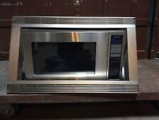 Dacor DMO2420S Microwave and Trim Piece in Good Condition.