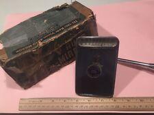 NOS Tel-Tru Thermometer Mirror Vintage Original GM Chevy Accessory 30s 40s 50s $
