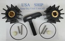 Pair of Impeller Kit Replaces Sherwood 17000K Cummins Caterpillar With Puller