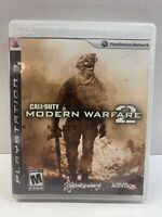 Call of Duty: Modern Warfare 2 (PlayStation 3, 2009) Pre-Owned Complete Tested