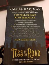 Tess of the Road by Rachel Hartman (Seraphina*Shadow Scale) 2018 ARC Paperback
