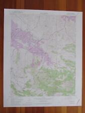 Clayton California 1981 Original Vintage Usgs Topo Map