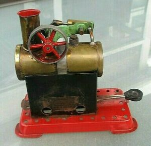 MAMOD VINTAGE JUNIOR STEAM ENGINE COMPLETE WITH BURNER.