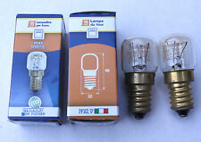 ARISTON OVEN LIGHTS/GLOBES DR FISHER MADE IN ITALY 300C PAIR 15W