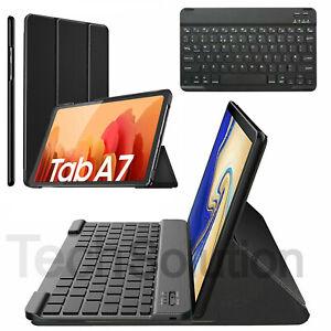 Case Cover For Samsung Galaxy Tab A7 10.4 2020 Keyboard Wireless Bluetooth