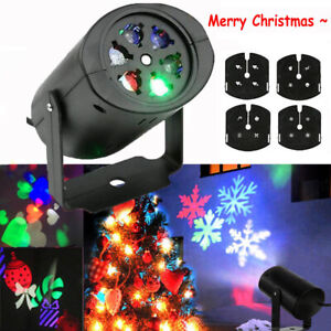 LED Projector Moving Laser Projection Outdoor Christmas Halloween Stage Light