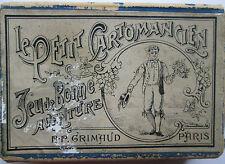 Antique Parisian Fortune Telling Cards C.1890 Le Petit Cartomancien B.P. Grimaud