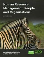Human Resource Management People and Organisations 9781843984160 | Brand New