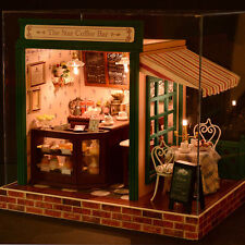 DIY Handcraft Miniature Project Kit The Star Cabin Cafe Music Wooden Dolls House