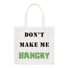 Don't Make Me Hangry Small Tote Bag - Hungry Angry Food Funny Shoulder