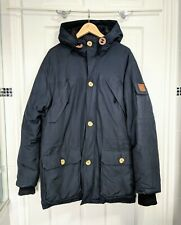 PENFIELD Jacket Parka 60/40 Down Feather Winter Coat Warm Size L Navy Blue VGC
