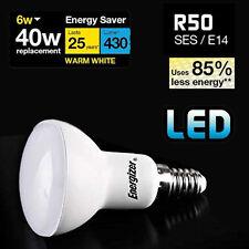 4x Energizer 6w=40w R50 LED Energy Saving Light Bulb SES E14 Small Screw Cap