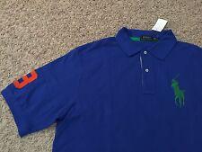 NWT Polo Ralph Lauren Short Sleeve Polo Shirt Big Pony Mens XLT (2113)