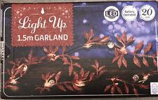 light up christmas garland