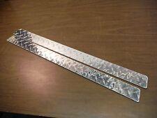 Miatamecca New Chrome Steel Door Sill Accent Plate Set 99-05 Mazda MIata MX5