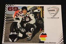 Card BMW S 1000RR 2012 #69 Lucy Glöckner (GER) IDM Superbike (HW)