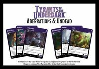 Board Games--Dungeons & Dragons - Tyants of the Underdark Aberrations & Undea...