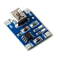5V Mini USB 1A Lithium Battery 18650 Charging Board Charger Module LED TP4056 TW