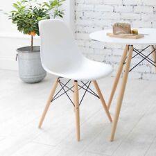 4X DSW Esszimmerstühle Wohnzimmerstuhl Eiffel Stuhl DEKO Retro Design Weiße