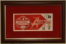 ALABAMA football 2011 Championship USPS Commemorative framed envelope