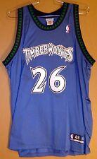 MINNESOTA TIMBERWOLVES SULLIVAN #26 AUTHENTIC NBA Reebok Size 48 JERSEY
