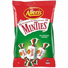 Allens Minties Lollies 1Kg Bulk Bag