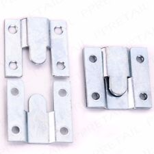 4 x FLUSH HIDDEN BEHIND MOUNT BRACKETS Picture/Mirror/Headboard Wall Hanging