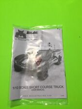 REDCAT RACING BLACKOUT SC OWNERS MANUAL