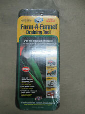 """PIG 18609 FORM-A-FUNNEL FLEXIBLE OIL DRAINING FUNNEL 14-1/2""""X 6-1/2"""" MADE IN USA"""