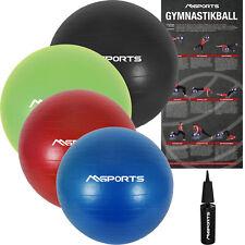 Gymnastikball Premium ANTI BURST inkl. Pumpe 55 cm - 105 cm Sitzball