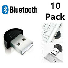 10 Pack Lot Mini USB2.0 EDR Wireless Bluetooth Dongle Adapter for Laptop PC Win