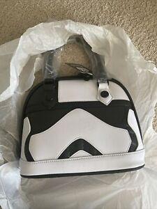 Loungefly Star Wars Handbag First Order Stormtrooper Executioner NWT bonus pouch