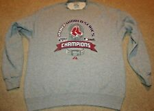 Boston Red Sox World Series Champions 2007 Majestic Large Crew Sweatshirt