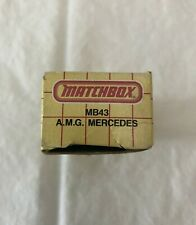 Matchbox MB43 A.M.G. Mercedes Box Only