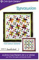 Revolution Quilt Pattern by Cozy Quilt Designs