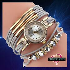 Bracciale Orologio multistrato da donna di alta moda disponibile in 2 varianti.