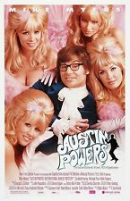 Austin Powers movie poster (a) : 11 x 17 inches : Mike Myers