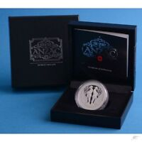 New Zealand  - 2015 - Silver $1 Proof Coin- 1 OZ The Spirit of Anzac!!!