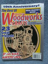 The Best Of Creative Woodworks & Crafts 10th Anniversary Fall 1998 with Patterns