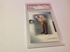 Michael Clark II 2001 SP Authentic Preview Golf xxxx/ Sample PSA 10 r1397
