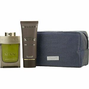 Bvlgari Man Wood Essence Eau De Parfum Spray & Aftershave Balm & 100ml/3.4oz