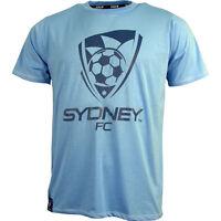 Sydney FC Sky Blues Classic Core T Shirt Size S-5XL! A League Soccer!