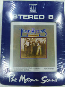 """The Temptations """"House Party"""" - 8 track NEW sealed in box"""