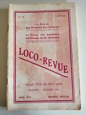 LOCO REVUE N° 38 NUMERO SPECIAL NOËL 1945