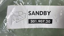 IKEA Sandby Sofa Slipcover Sandby Three Seat Sofa Cover New Sealed