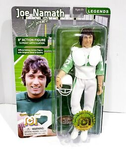 """Joe Namath New York Jets NFL Legends Numbered limited to 8000 - 8"""" Action Figure"""