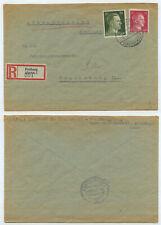 72611 - R-Brief - Freiberg 2.12.1943 nach Regensburg - Wehrbezirkskommando