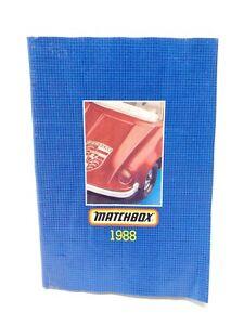 Vintage Original Matchbox Superfast Toys 1988 Collectors Catalog